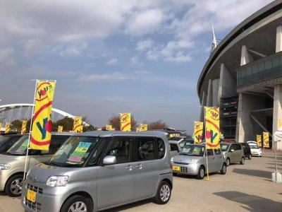豊田スタジアム西イベント広場での「軽大会」