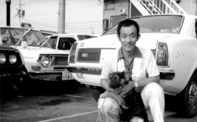 創業者 井上政彦と番犬ナッキー